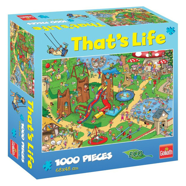 That's Life 1000-Piece Jigsaw Puzzle - Kid's Playground