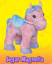 Doodle Bear Colour By Number Pony - Sugar Magnolia
