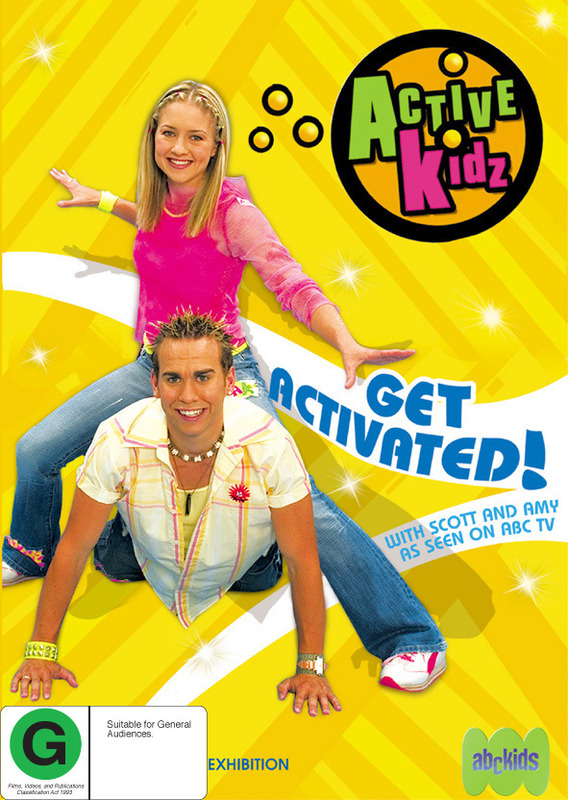 Active Kidz - Get Activated! on DVD