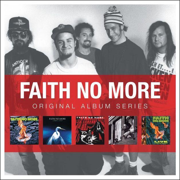 5 Albums in 1 - Original Album Series by Faith No More