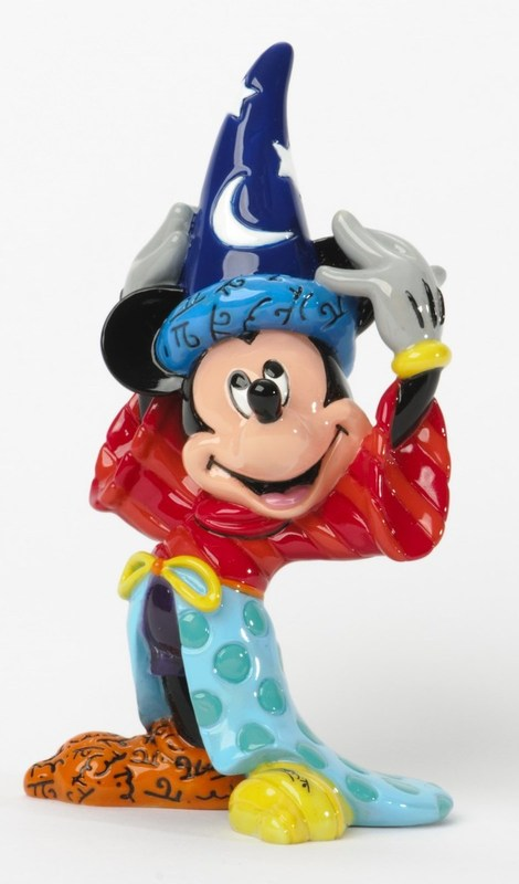 Romero Britto Mickey Mouse Sorcerer Mini Figurine