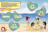 LEGO Friends: Fun on the Beach Activity Book with LEGO Miniset