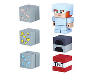 Minecraft Eraser Starter Set 02 - Iron Alex & Cave Exploration Pack