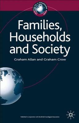 Families, Households and Society by Graham Allan image