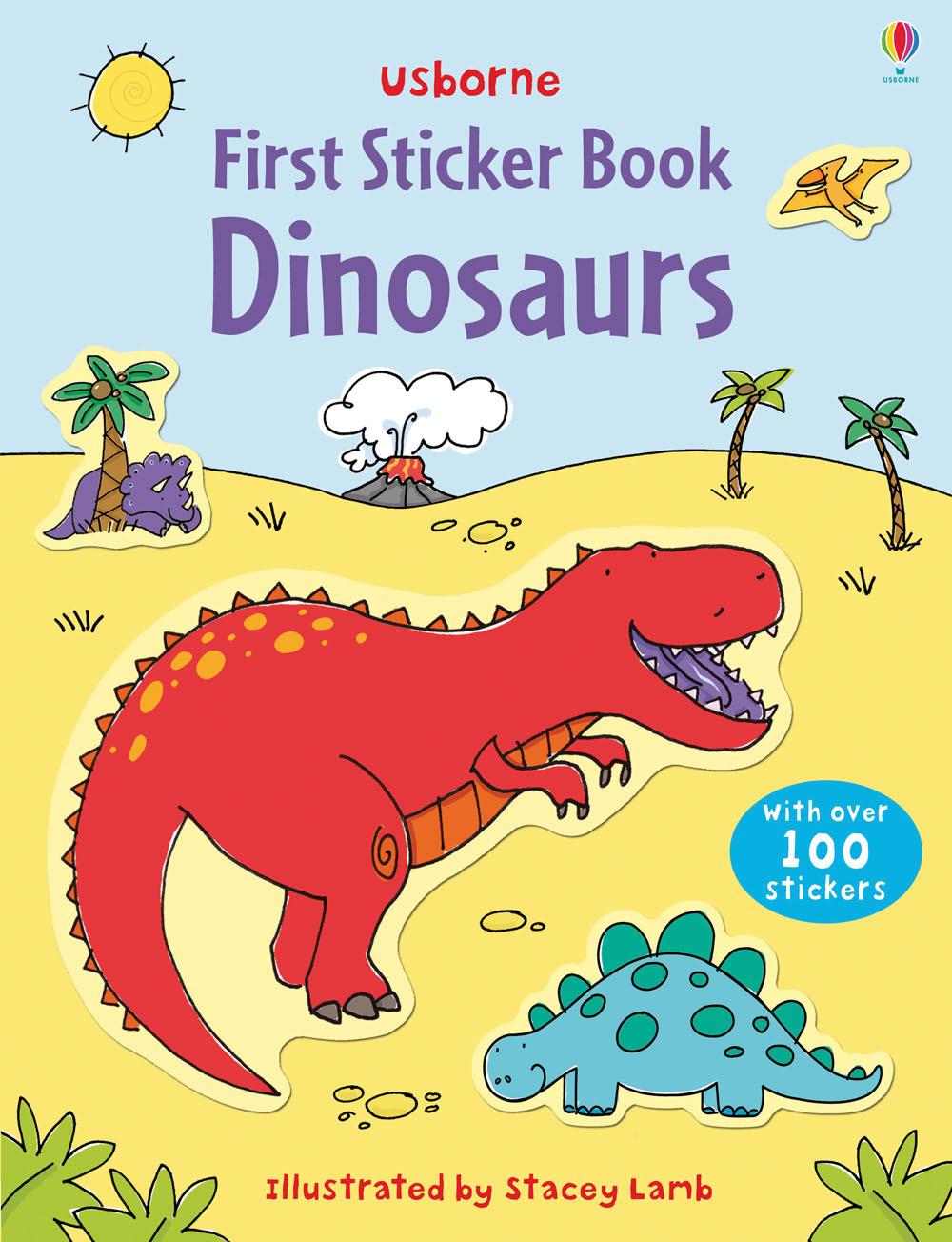 First Sticker Book Dinosaurs by Sam Taplin image