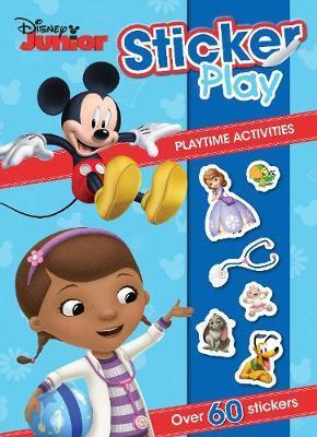Disney Junior Sticker Play Playtime Activities by Parragon Books Ltd image