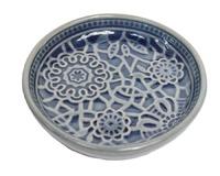 Botanic Dark Blue Dish (16cm)