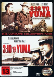 3:10 To Yuma - The Ultimate Collector's Pack (2 Disc Set) on DVD image