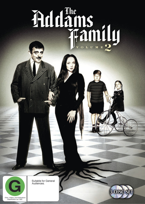 The Addams Family (1964) - Vol. 2 (3 Disc Set) on DVD