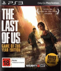The Last of Us Game of the Year Edition for PS3