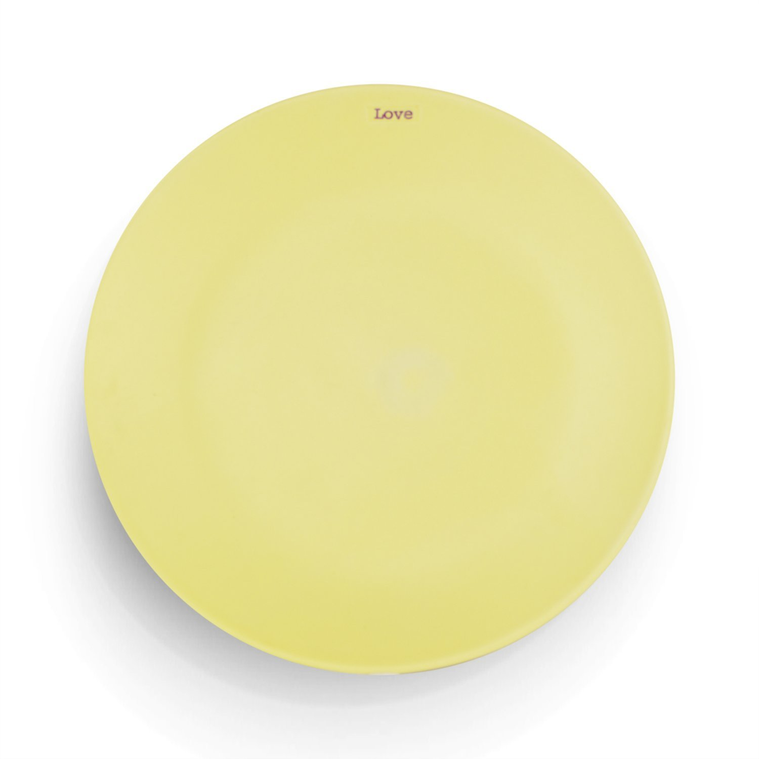Side Plate Love - Yellow image
