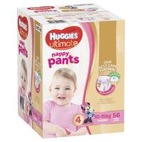 Huggies Ultimate Nappy Pants: Jumbo Pack - Toddler Girl 10-15kg (56) image