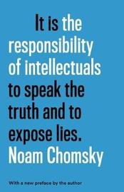 The Responsibility Of Intellectuals image