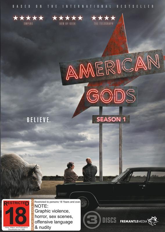 American Gods - Season 1 on DVD