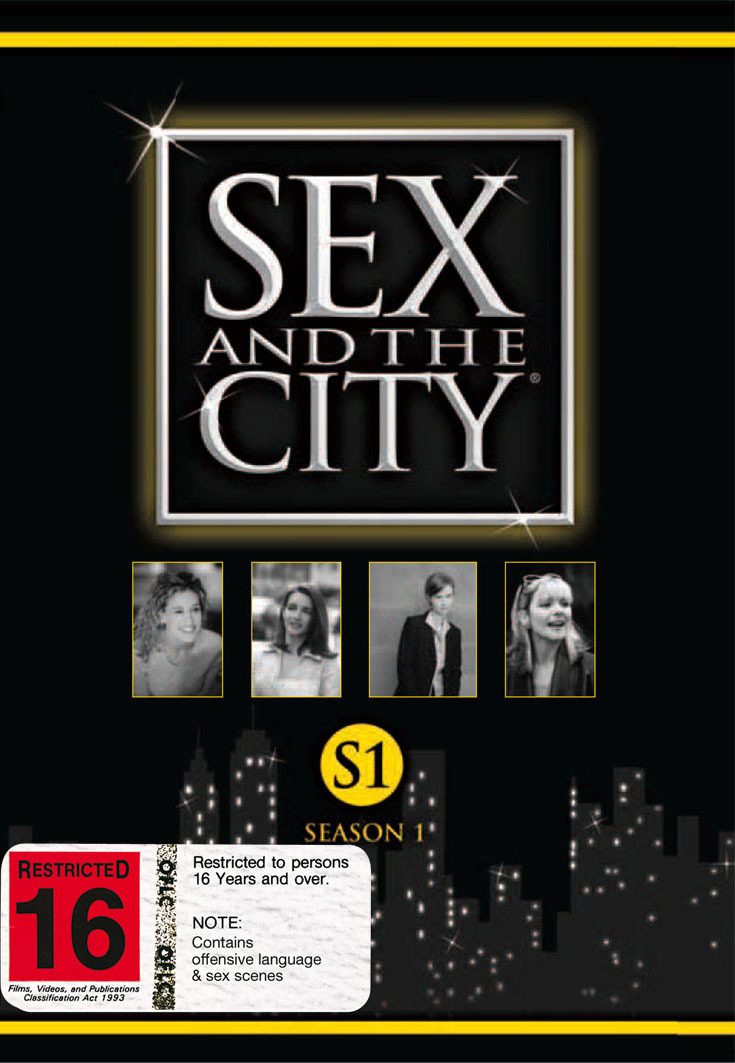 Sex And The City - Season 1 (2 Disc Set) on DVD image