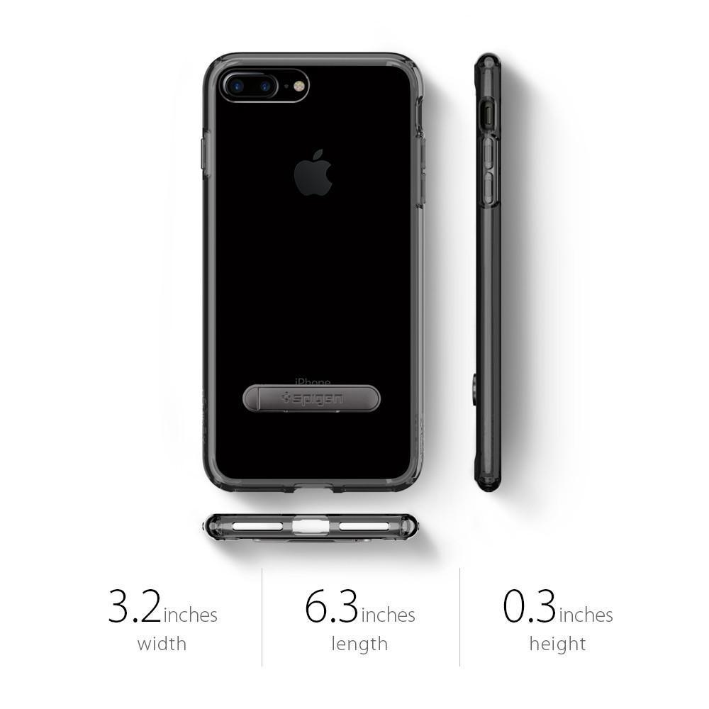 Spigen: iPhone 7 Plus - Ultra Hybrid S Case (Jet Black) image