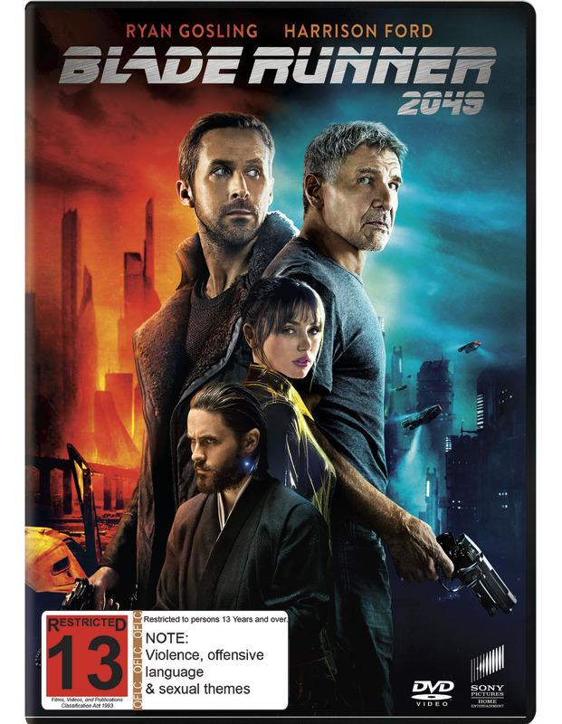 Blade Runner 2049 on DVD