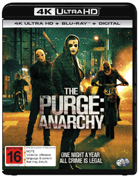 The Purge: Anarchy on UHD Blu-ray image
