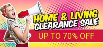 Home & Living Clearance Sale - Up to 70% off!