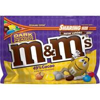 M&Ms - Dark Chocolate Peanut (286g)