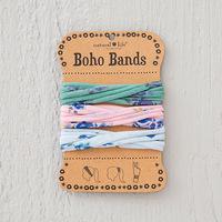 Natural Life: Boho Bands - Roses/Pink/Sage/Blue (Pack of 3)