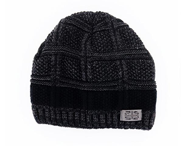 Frontier: Men's Knit Hat - Black