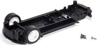 Scalextric Rear Underpan & Front Axle Assembly for Start Rally 1/32 Slot Cars