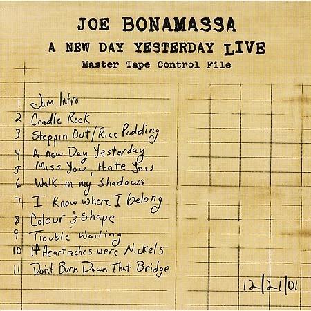 A New Day Yesterday Live by Joe Bonamassa