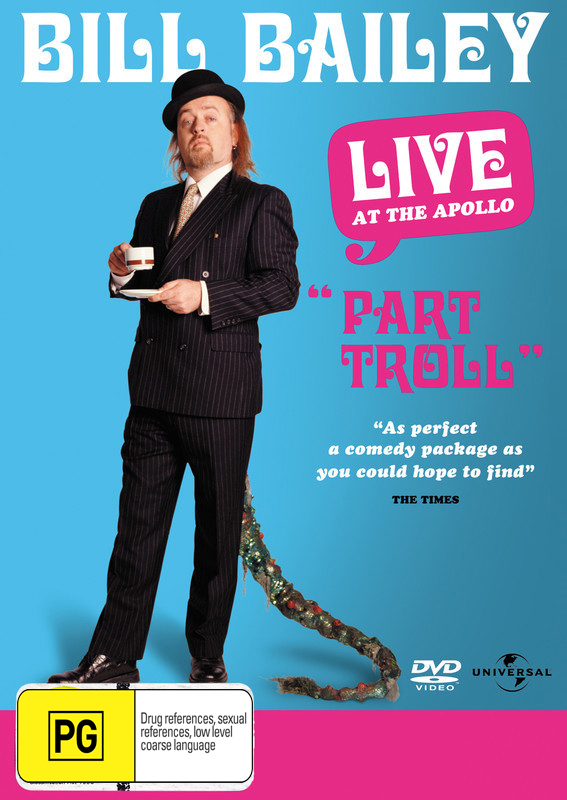 Bill Bailey - Live At The Apollo: Part Troll on DVD