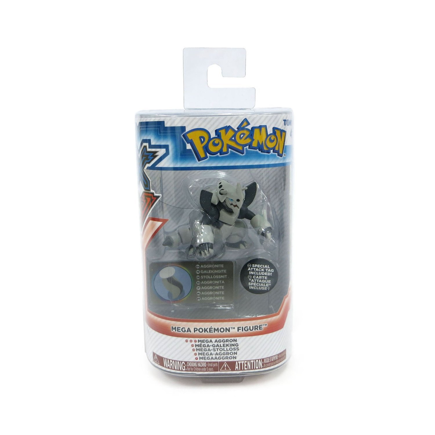Xy Pokemon Mega Evolution Figures Aggron