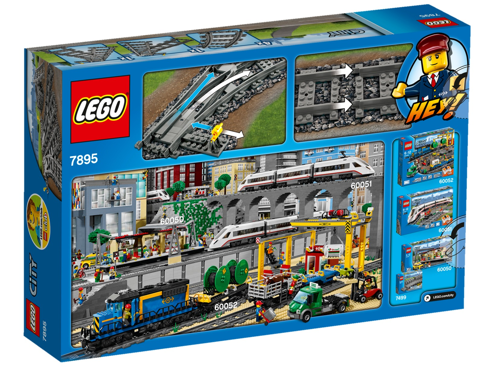 Lego City Switching Tracks Set 7895 Toy At Mighty