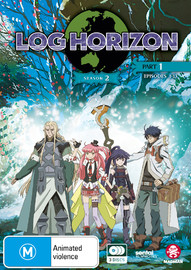 Log Horizon Season 2 Part 1 (eps 1-13) on DVD