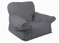 Beanz Big Mini Indoor/Outdoor Bean Bag Cover - Grey