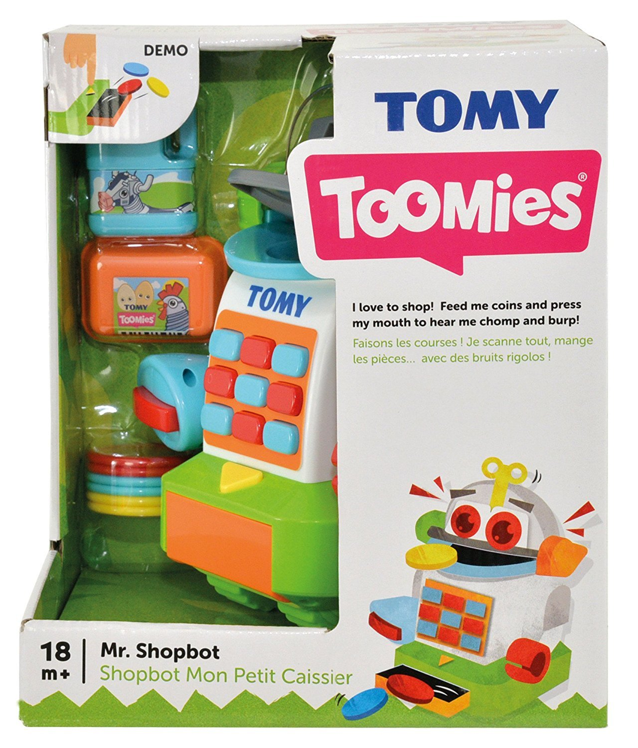 Tomy Toomies: Mr ShopBot - Playset image