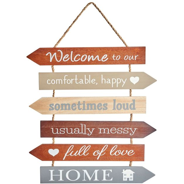 """Welcome to our Home"" Wall Hanging"