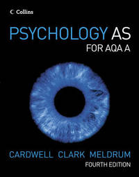 Psychology AS for AQA A by Mike Cardwell image