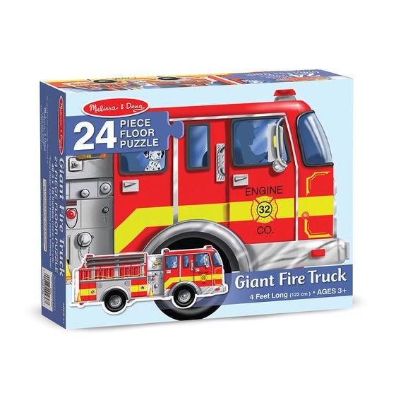 Melissa & Doug: Giant Fire Truck Floor Puzzle