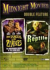Plague Of Zombies / Reptile on DVD