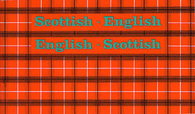 Scottish-English, English-Scottish image