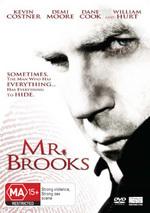 Mr Brooks on DVD