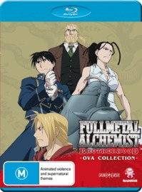 Fullmetal Alchemist: Brotherhood Ova Collection on Blu-ray