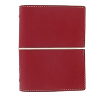 Filofax Pocket Organiser Domino Red
