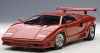 Autoart: 1/18 Lamborghini Countach 25th Anniversary Edition (Red)