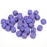 Chessex: D6 Speckled Cube Set (12mm) - Silver Tetra image
