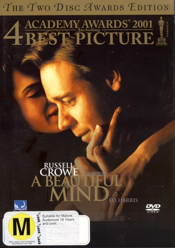 Beautiful Mind, A (2 Disc) on DVD image