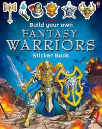 Build Your Own Fantasy Warriors Sticker Book by Simon Tudhope image