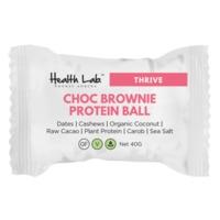 Health Lab Chocolate Brownie Protein Ball (40g)
