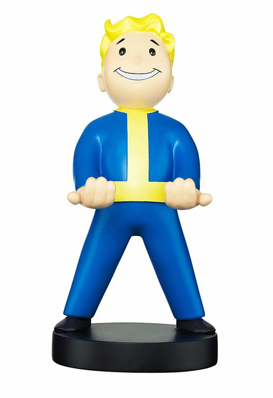 Cable Guy Controller Holder - Fallout Vault Boy 76 for PS4
