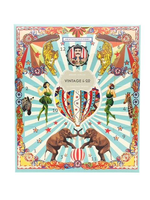 Vintage + Co Grand Circus 12 Wishes Advent Calendar