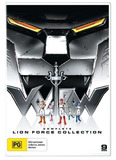 Voltron Defender of the Universe: Lion Force Collection (9 Disc Set) DVD